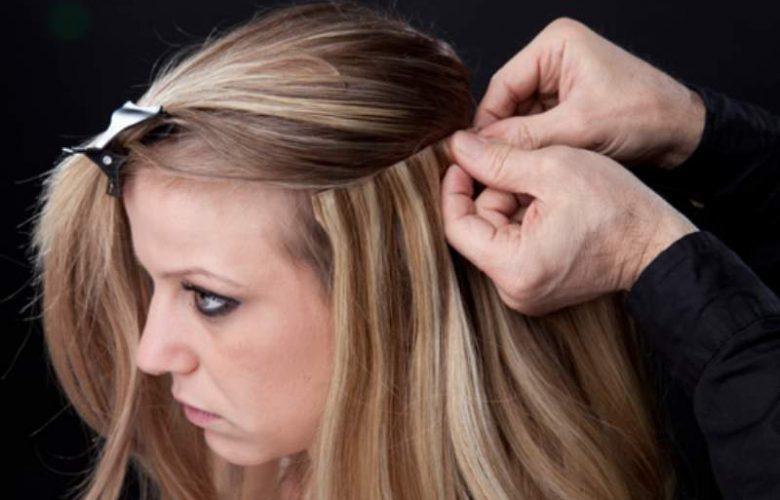 acconciature capelli con extension