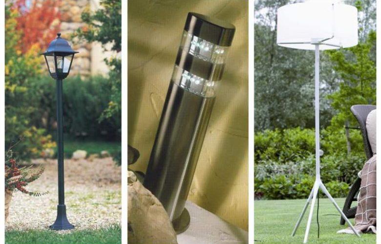 Lampioni da giardino a sfera awesome vidaxl lampione da esterno