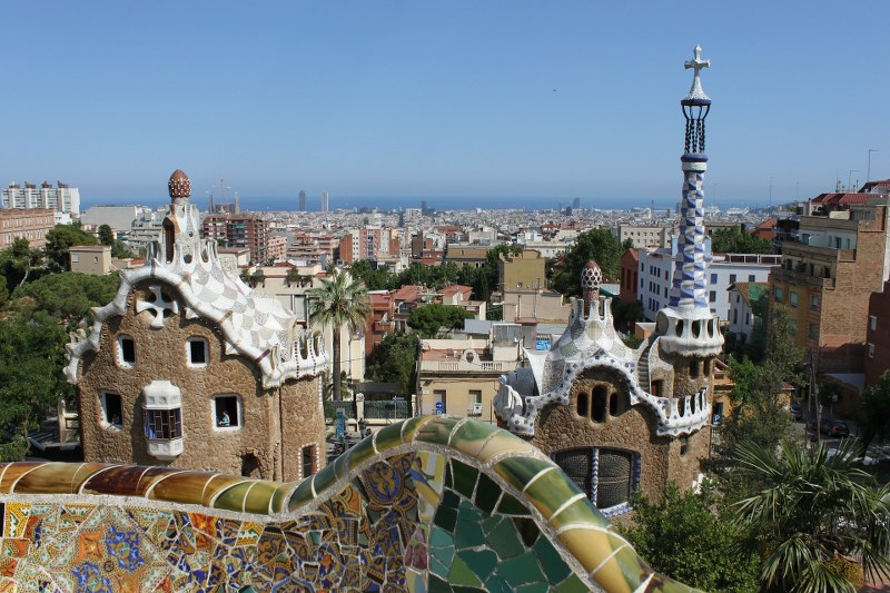 Cosa vedere a Barcellona Parc Guell_800x533