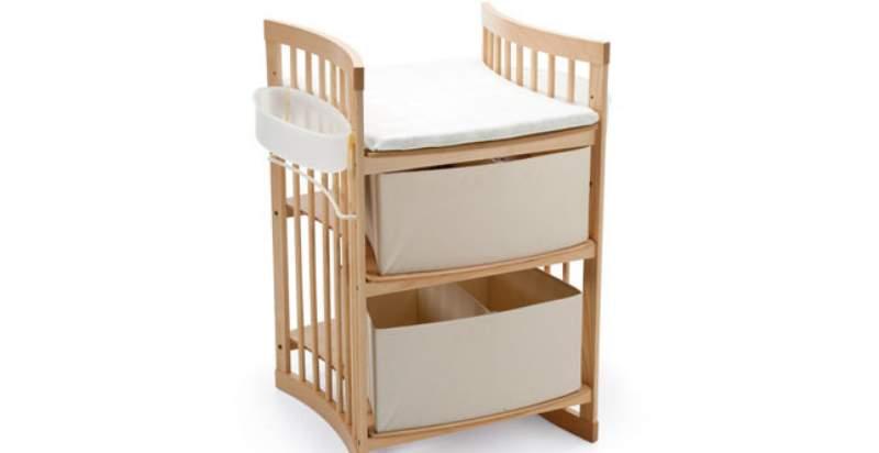 fasciatoio cassettiera in legno