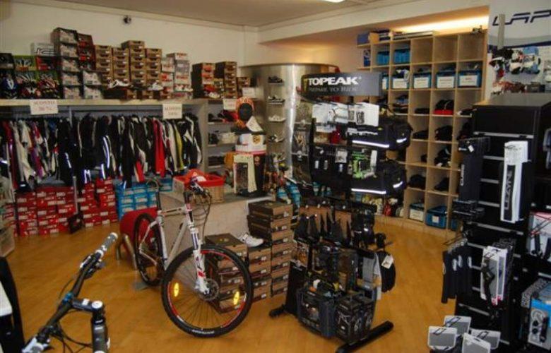 negozio biciclette